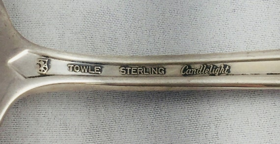 Cold Meat Serving Fork 731707 Towle CANDLELIGHT STERLING