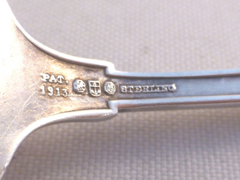Etruscan by Gorham Sterling Beef Fork-6 14