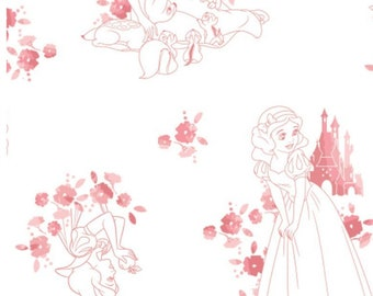 Disney Forever, Princess, Snow White, 85100511, col 01, Camelot Fabrics, cotton, cotton quilt, cotton designer