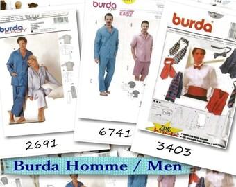 3 models, Burda, Man, liquidation pattern, new, uncut, (Reg 8.99-14.99)