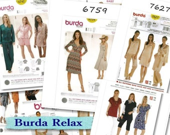 2 models, Burda, Women, 6-30, new, uncut, (Reg 12.99)