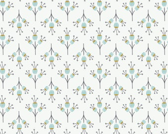 Joséphine, flowers, 2143803, col. 01, Camelot Fabrics, multiple quantity cut in one piece, 100% Cotton, (Reg 2.39-17.29)