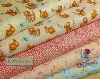 Bundle, 5 prints, That's my baby, quilt cotton, cotton designer, 100% cotton, (Reg 19.95 -89.95)