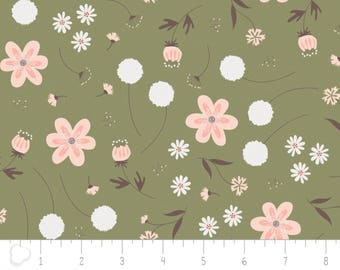 In the woods, 2241003, col 01, Camelot Fabrics, sage, multiple quantity cut in one piece, 100% Cotton, (Reg 3.99 -17.99)