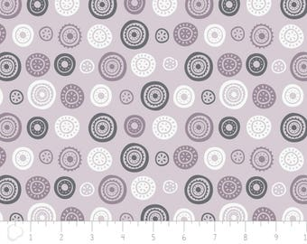 Joséphine, circles, 2143805, Camelot Fabrics, multiple quantity cut in one piece, 100% Cotton, (Reg 3.99 - 17.99)