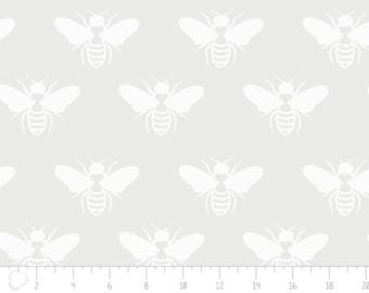 END OF BOLT, Opalescent, Bubblebee, white, 2143503, col 01, Camelot Fabrics, multiple quantity cut in one piece, 100% Cotton