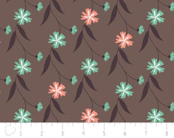 In the woods, 2241004, col 03, Camelot Fabrics, brown, multiple quantity cut in one piece, 100% Cotton, (Reg 3.99 -17.99)