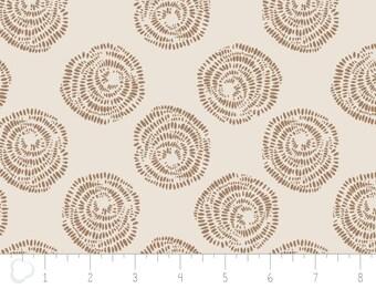 Equestrian, Rosette Au Naturel, 2143602, Camelot Cotton, 100% Coton