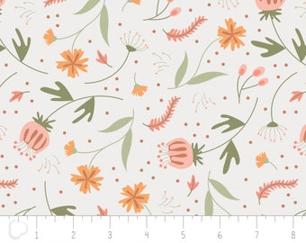 In the woods, 2241001, col 01, Camelot Fabrics, white, multiple quantity cut in one piece, 100% Cotton