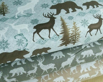 Moose, Modern Lodge, Bernartex, 100% cotton