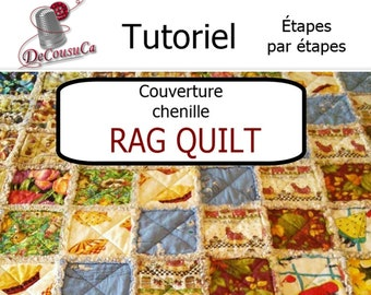 PDF, Tutoriel, Rag Quilt, (PDF in french only)