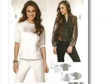 Burda, Women, 6841, bolero, top, blouse, t-shirt, new, uncut