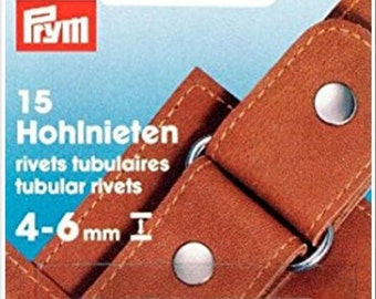 8-20 rivets, 3-9mm, Prym, 403150, 403151, 403152, silver, stainless, with installation tool