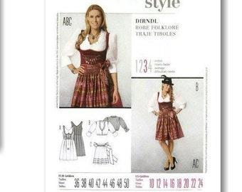 Burda, Costume, women 8-32 , new, uncut