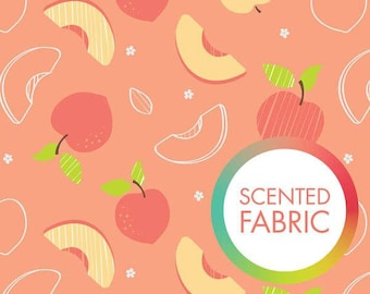 Peach, Scented Collection, 2142201SC, Camelot Fabrics, multiple quantity cut in one piece, 100% Cotton, (Reg 3.49 - 14.99)