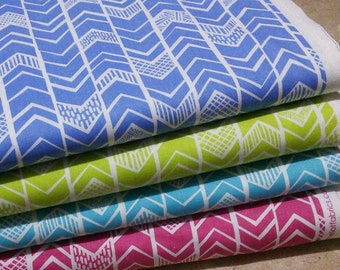 Bundle, 4 prints, Mod Block, Camelot Fabrics, Quilt cotton
