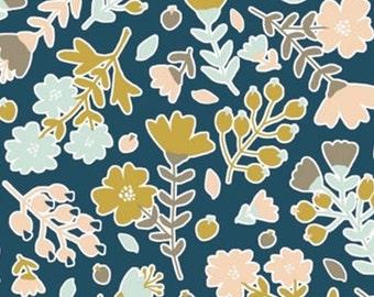 Flower, Neufchâtel, 31180203, col 02, Camelot Fabrics, 100% Cotton