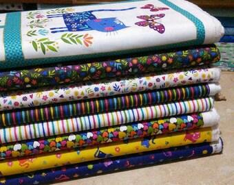Bundle, 8 prints, Cats, Katie's Cat, Makower