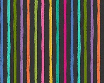 Stripe, rainbow, Katie's Cat, 2347 S, Makower, cotton, cotton quilt, cotton designer