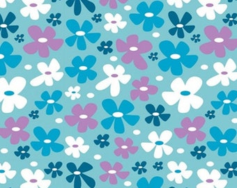 Flower, 18180106, col 03, Springs Birds, Camelot Fabrics, 100% Cotton, (Reg 2.99-17.99)