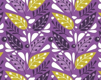 Leaves, 18180104, col 01, Springs Birds, Camelot Fabrics, 100% Cotton
