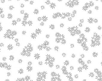 Silver metallic, white, Metallic Mixers, Benartex, 7719M, cotton, cotton quilt, cotton designer