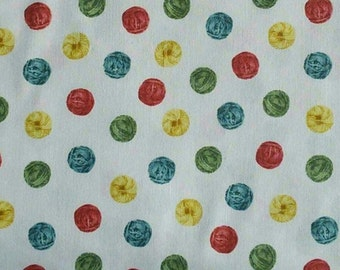 Knit'n Purl, white, 51608, Windham Fabrics, cotton quilt, cotton designer