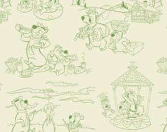 Yogi, Yogi Bears, 24190106, col 02, Camelot Fabrics, cotton, cotton quilt, cotton designer