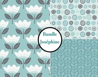 Kit 3 prints, 1 of each print, Joséphine, Bundle, collection