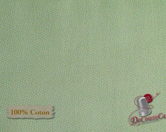 Sage, Morning in the garden, Henry Glass & Co, 2201, multiple quantity cut in 1 piece, 100% Cotton, (Reg 2.99-17.99)