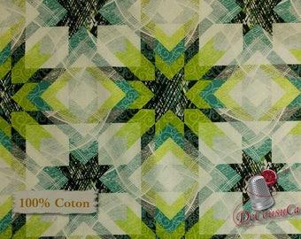 Starlight, 100% coton, Windham Fabrics, by Katia Hoffman, pattern 41593