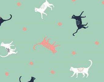 Cat, Urban Jungle, 30180205, col 01, Camelot Fabrics, cotton, cotton quilt, cotton designer