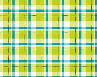 Plaids, lime, 27170706, col 02, Game On,Camelot Fabrics, 100% Cotton