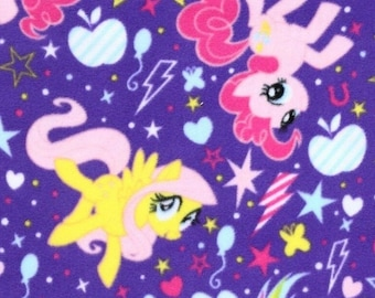 Pony Cutie power toss, Hasbro, Springs Creatives, CP54346, 100% Cotton, quilt cotton