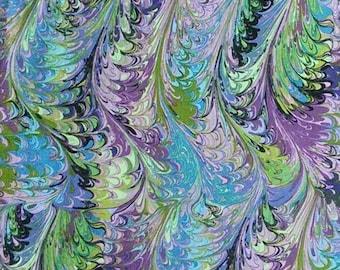 Marbled, blue, mauve, green, Joann, cotton, cotton quilt, cotton designer