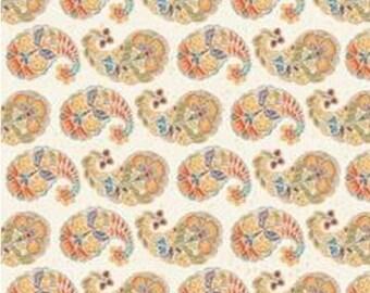 Peasley, cream, 66190105, col 01, Free Spirit, Camelot Fabrics, 100% Cotton