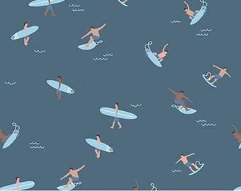 Surfers, Surboards, Cadet, Riptide, 10303, Riley Blake, cotton quilt, cotton designer, (Reg 3.76-21.91)