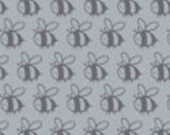 END OF BOLT, Bumble Bee, Flutter & Buzz, 6141804-02, Camelot Fabrics, 100% Cotton