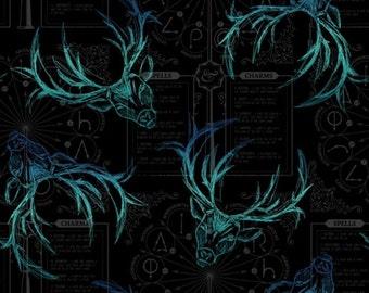 Harry Potter, HP Newsprint, doe, 23800139, col 02, Camelot Fabrics, cotton, cotton quilt, cotton designer