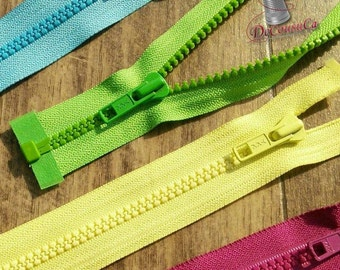 "YKK, Zipper, DETACHABLE, 14""-32"", (40cm - 80cm), zipper, #5V, varied color, varied size, nylon, for clothing, repair, ZZ01"