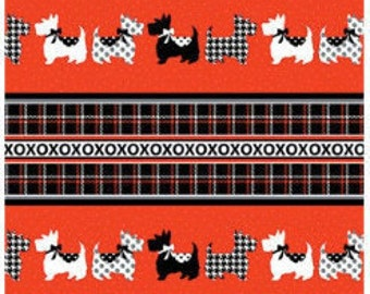 Dotty for Scottie, 7886, Benartex, cotton, cotton quilt, cotton designer
