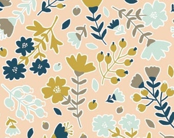 Flower, Neufchâtel, 31180203, col 01, Camelot Fabrics, 100% Cotton