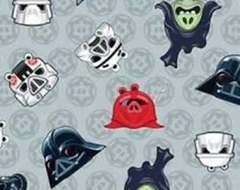 Star Wars, Angry Birds, Heads of Empire, 73300106, col 02, Camelot Fabrics, cotton, cotton quilt, cotton designer
