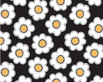 Daisies, 21181002, col 02, Field of Poppies, Camelot Fabrics, 100% Cotton