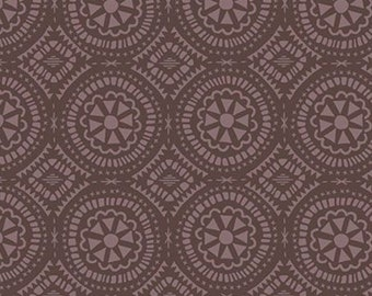 Boho, brown, 21180802, col 02, Flower Market, Camelot Fabrics, 100% Cotton