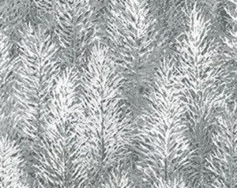 Sapin, metallic silver, 19268, col 88, Robert Kaufman, 100% Cotton