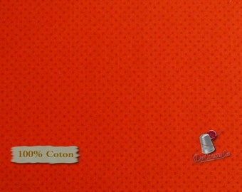 Red, dot, Édition Fabric, multiple quantity cut in one piece, 100% Cotton, (Reg 3.99 - 17.99)