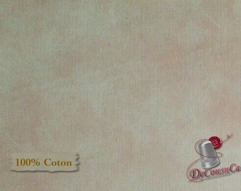 Pink-peach, Suède, P & B Textiles, multiple quantity cut in one piece, 100% Cotton, (Reg 2.99-17.99)
