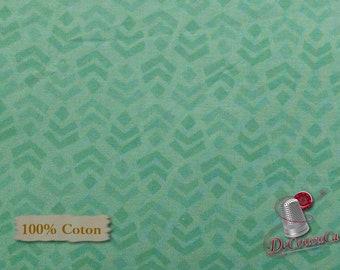 Aqua, Nature, Édition Fabric, multiple quantity cut in one piece, 100% Cotton,