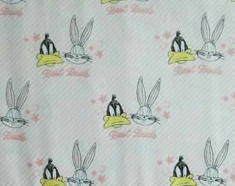 Bugs Bunny, Tweety, Looney Tunes, 23600127, COL 02, Camelot Fabrics